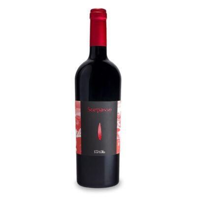 Fortulla Sorpasso - økologisk rødvin