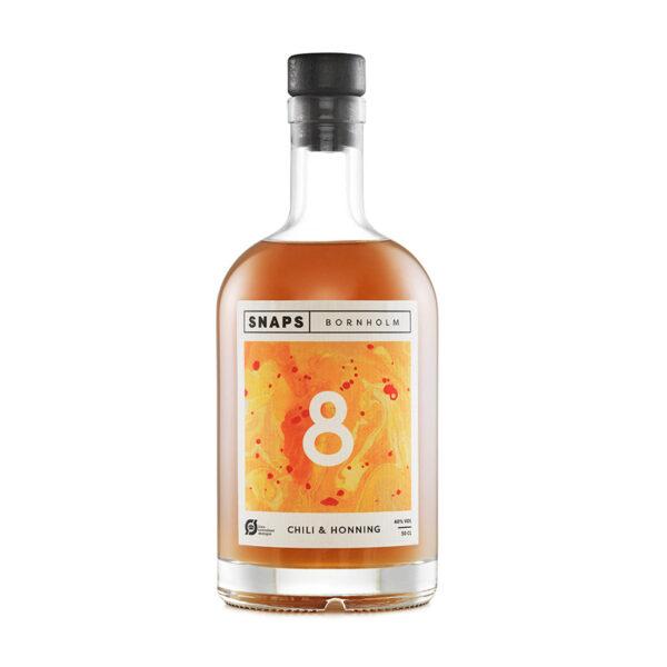 Snaps Bornholm 8 - Honning & chili