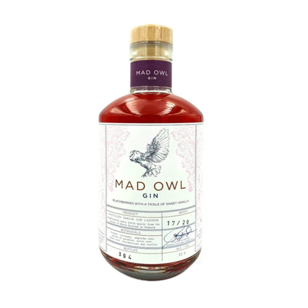 Mad Owl Gin - Blackberries